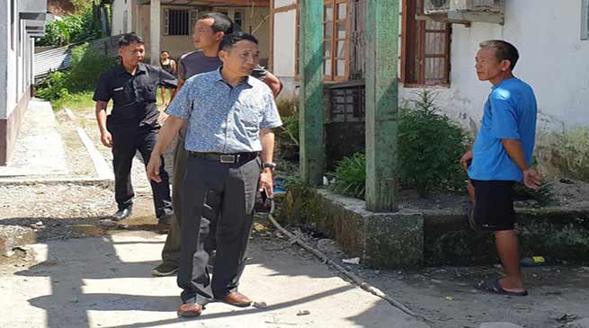Arunachal: Old AHV & DD office Campus encroached, ADM visits the site