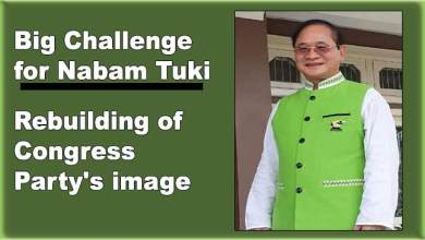 Photo of Big Challenge for Nabam Tuki : Rebuilding Congress Party's image
