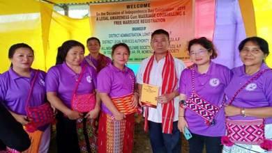 Photo of Arunachal: APWWS sensitizes marriage registration as per the AP Marriage Act – 2008