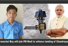 Arunachal Boy will join PM Modi at ISRO to witness landing of Chandrayan 2