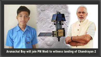 Photo of Arunachal Boy will join PM Modi at ISRO to witness landing of Chandrayan 2