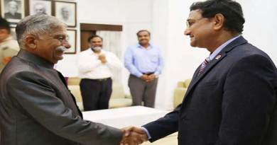 Arunachal: Indian Oil Chief General Manager (NE) calls on the Governor