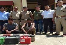 Photo of Arunachal: Two arrested for Car Batteries theft