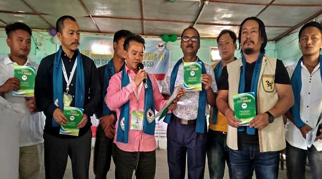 Arunachal: Clean and green sagalee NGO lunches its BYE-LAW
