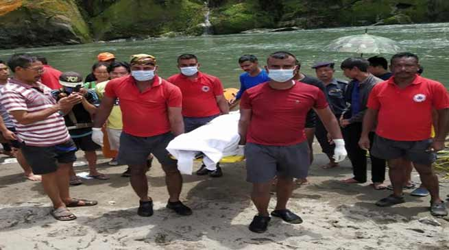 Arunachal: Crews recover body of man who drowned Ranganadi