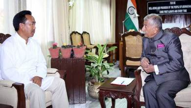 Photo of Arunachal: Governor discusses on strategic road with RWD Minister