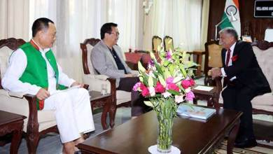Photo of Arunachal: Governor meets Dy CM and Chairman, Public Account Committee