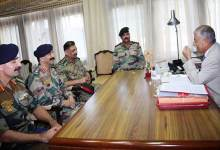 Photo of Arunachal: Governor meets the Commanding Officers of NCC battalions