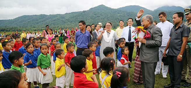 people of Vijoynagar are as important as any other citizen of Arunachal- Governor