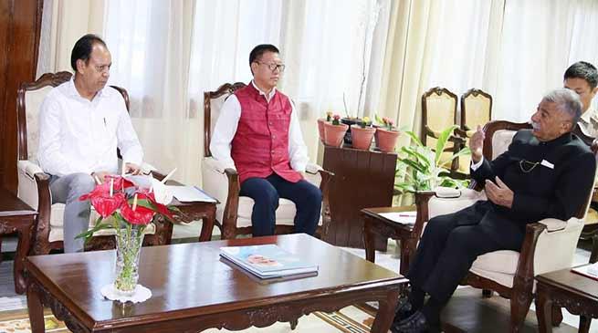 Arunachal: Governor, Education Minister discuss on Sainik School