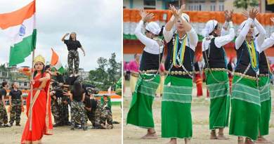 73rd Independence day celebrated all over Arunachal Pradesh