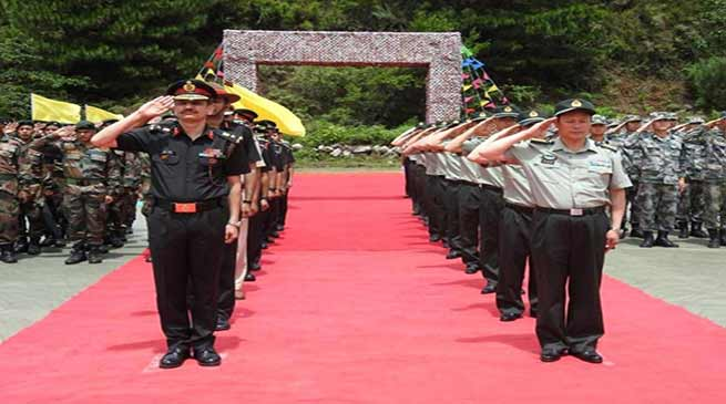 Arunachal: Indian Army participates on PLA's foundation day celebration at Damai