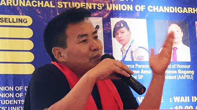Arunachal Students' Union of Chandigarh organised awareness programme for Education Counselling