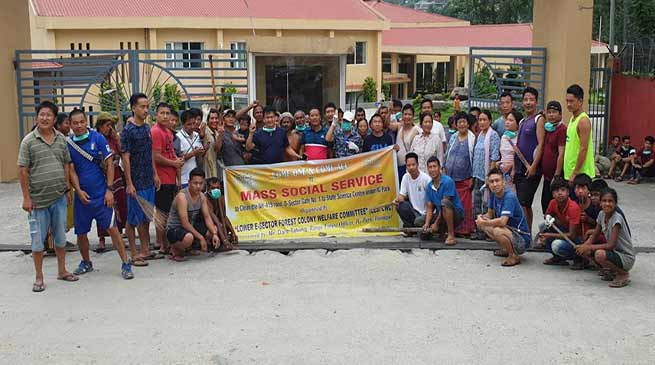 Arunachal: Mass Social Services held all over the state before I-Day