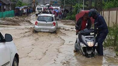 Itanagar: Mudslide block several roads in capital complex