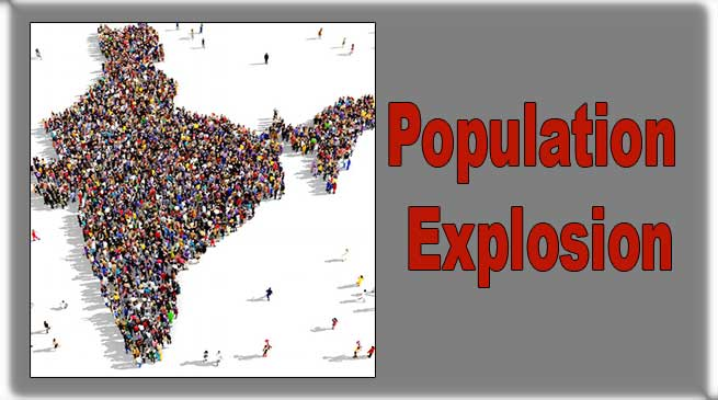 Population Explosion:A Stark Reality in India