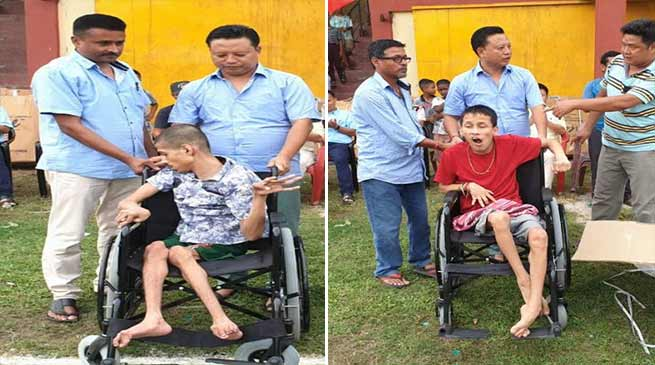 Arunachal: Sidisow distributed supporting materials to 80 differently abled person