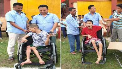 Photo of Arunachal: Sidisow distributed supporting materials to 80 differently abled person