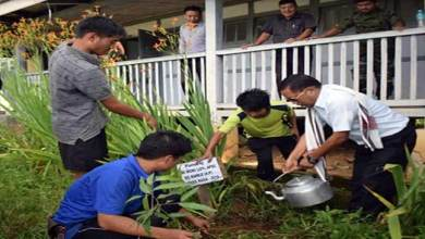 Photo of Arunachal: Tree plantation held at Govt. Higher Secondary School, Raga