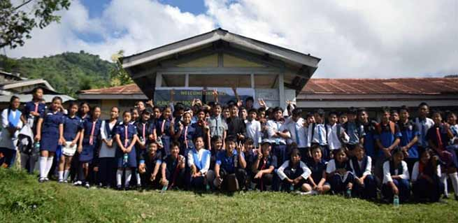 Arunachal: Tree plantation held at Govt. Higher Secondary School, Raga