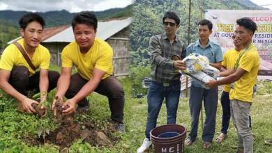 Photo of Arunachal: Tree Plantation in schools of remote villages