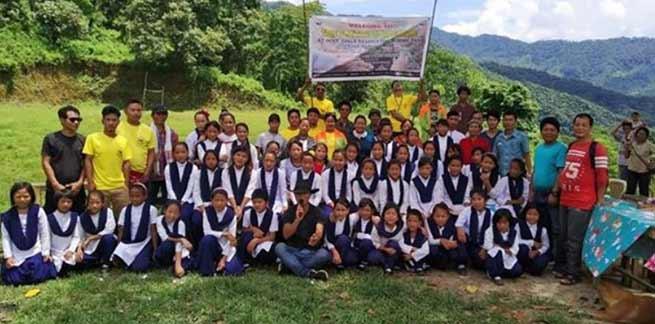 Arunachal: Tree Plantation in schools of remote villages