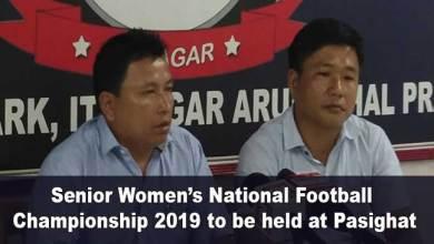 Senior Women's National Football Championship 2019 to be held at Pasighat