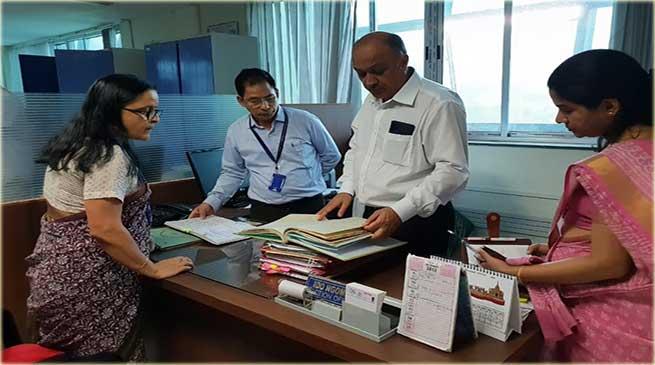 Itanagar: CS inspects various Offices of Civil secretariat