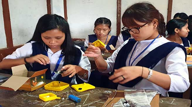 Itanagar: Capacity building programme for students concludes