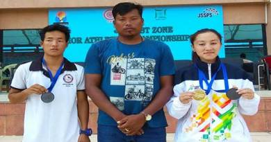 Joti Mane of Arunachal Pradesh grab gold medal in 31st East Zone Junior Athletics Championship 2019