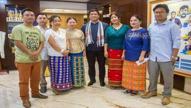 Itanagar: Khandu appreciates the work of team NE Idol-2019