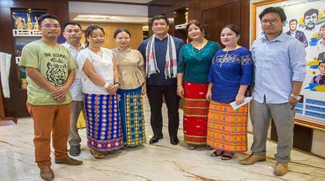 Itanagar: Khandu appreciates the work of team NE Idol-2019