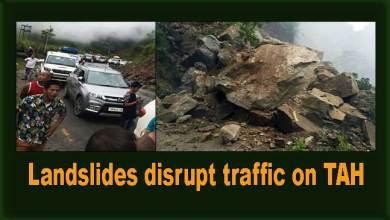 Photo of Arunachal: Landslides disrupt traffic on TAH