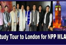 Arunachal: Sangma announces Study Tour to London for NPP MLAs