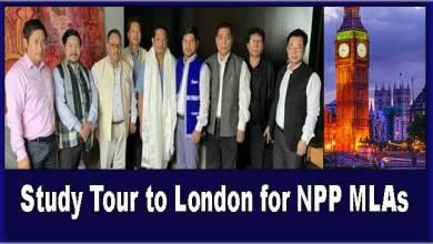 Photo of Arunachal: Sangma announces Study Tour to London for NPP MLAs