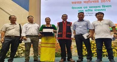 Arunachal: Opung Jerang awarded with Swachh Bharat Award ((National)