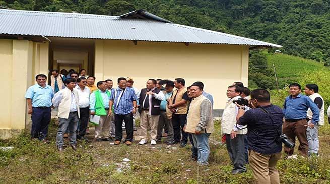 Arunachal: NES adopted Raga Higher Secondary School in Kamle dist