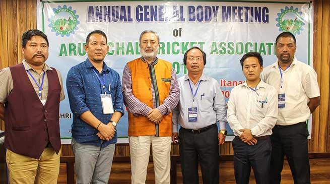 TC Tok, new president of Arunachal Cricket Association (ACA)
