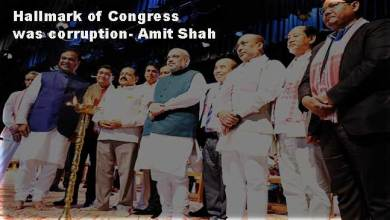 Hallmark of Congress was corruption- Amit Shah