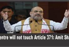 Photo of Center has no intention of tinkering with Article 371- Amit Shah