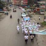 Arunachal: Ayushman Bharat Pakhwada celebration begins with Prabhat Pheri