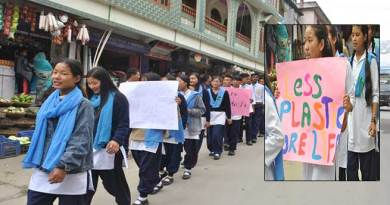 Arunachal: Rally against plastic use in Dirang