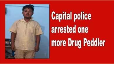 Photo of Itanagar: Capital police arrested one more Drug Peddler
