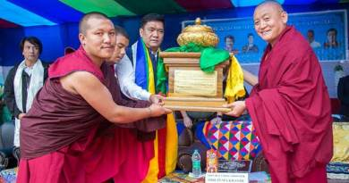 Arunachal CM inaugurates academic building of Guru Tenpai Dronme LobdraGovt. Primary School at Lhabau