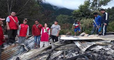Arunachal: 2 Houses and Anganwadi Centre gutted in Fire incident