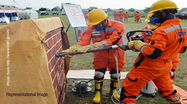 Arunachal: NDRF Launches Disaster Management Training  to NYKS Volunteers