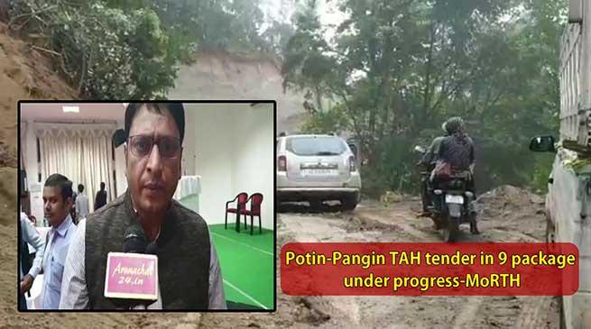 Potin-Pangin TAH tender in 9 package under progress-MoRTH