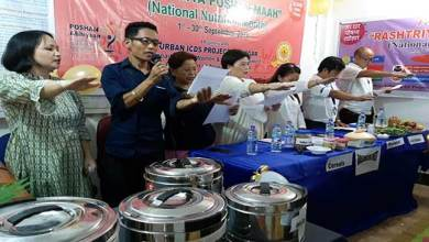 Rashtriya Poshan Maah launched in Itanagar