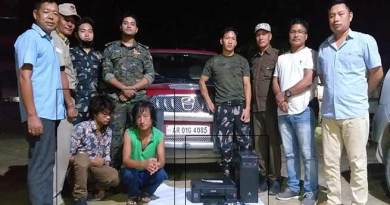 Itanagar: Capital police nab robbers, recover looted items