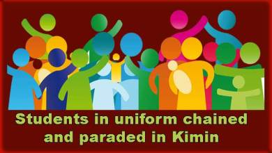 Photo of Arunachal: Students in uniform chained and paraded in Kimin